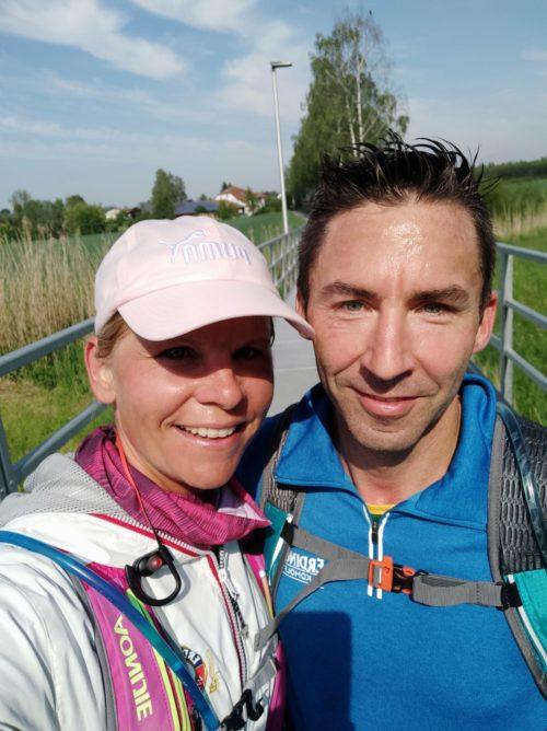 Marathonlauf in der Umgebung